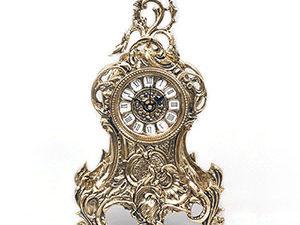 Часы каминные, напольные.