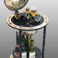 Мини-бары глобусы напольные