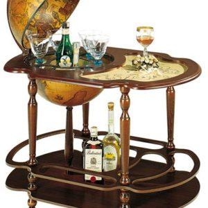 Мини-бары глобусы со столиком
